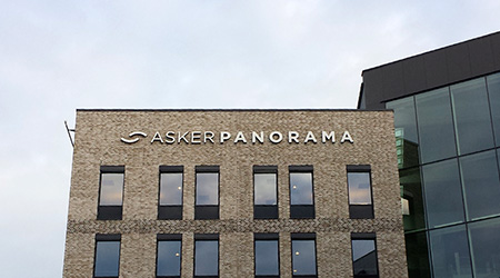 Skiltplan for Asker Panorama